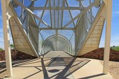 Puente de la serpiente de cascabel en Tucson Arizona imagen de archivo