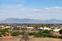 Puente de la serpiente de cascabel en Tucson Arizona Fotografía de archivo libre de regalías