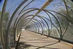 Puente de la serpiente de cascabel en Tucson Arizona Imagenes de archivo