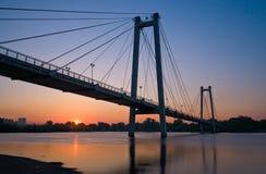 Puente de la suspensión Bridge Fotos de archivo libres de regalías