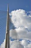 Puente de la suspensión Bridge foto de archivo libre de regalías
