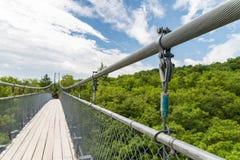 Puente de la suspensión Bridge Fotografía de archivo