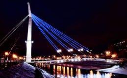 Puente de la tarde Foto de archivo libre de regalías