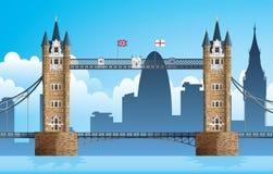 Puente de la torre de Londres Imagenes de archivo