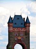 Puente de la torre en gusanos Imagen de archivo libre de regalías