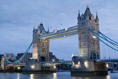 Puente de la torre en Londres Fotografía de archivo libre de regalías