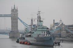 Puente de la torre en Londres Foto de archivo libre de regalías