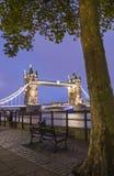 Puente de la torre en Londres Imagen de archivo