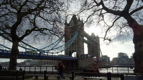 Puente de la torre en Londres Imagen de archivo libre de regalías