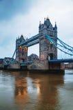 Puente de la torre en Londres, Gran Bretaña Imagen de archivo libre de regalías