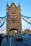Puente de la torre en Londres, Inglaterra Imágenes de archivo libres de regalías
