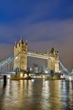 Puente de la torre en Londres, Inglaterra Fotos de archivo libres de regalías
