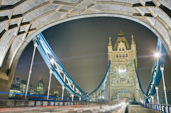 Puente de la torre en Londres, Inglaterra Imagen de archivo
