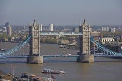 Puente de la torre en Londres, Reino Unido Fotos de archivo