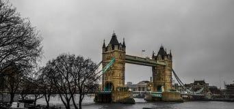 Puente de la torre en Londres, Reino Unido Fotografía de archivo libre de regalías