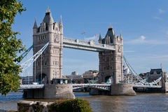 Puente de la torre, Londres, Inglaterra Imagen de archivo
