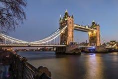 Puente de la torre, Londres, Inglaterra Fotografía de archivo libre de regalías