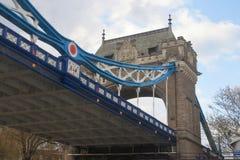 Puente de la torre - Londres - Reino Unido Foto de archivo libre de regalías