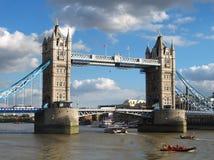 Puente de la torre, Reino Unido Foto de archivo libre de regalías