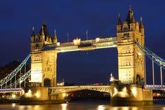 Puente de la torre, Reino Unido Fotografía de archivo libre de regalías