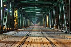 Puente de la tranvía fotos de archivo