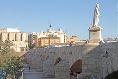 Puente de La Trinidad, Valencia, Spain Royalty Free Stock Photos