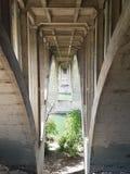 Puente de la universidad Imágenes de archivo libres de regalías