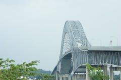 Puente de las Américas Panamá en color Imagen de archivo libre de regalías