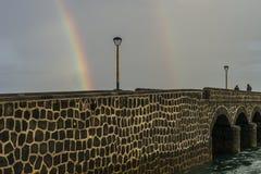 Puente de las Bolas, Arrecife Στοκ Φωτογραφία
