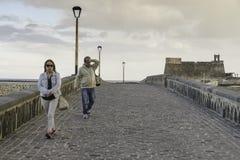 Free Puente De Las Bolas, Arrecife. Royalty Free Stock Images - 52378389
