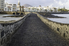 Puente de las Bolas, Arrecife. Stock Photo