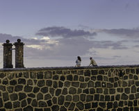 Puente de las Bolas, Arrecife. Royalty Free Stock Image