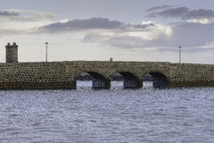 Puente de las Bolas, Arrecife. Royalty Free Stock Photos