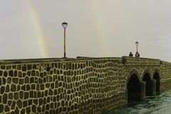 Puente de las Bolas, Arrecife. Stock Image
