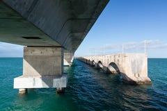 Puente de las llaves de la Florida y rastro de la herencia fotos de archivo libres de regalías