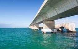 Puente de las llaves de la Florida y rastro de la herencia imagen de archivo