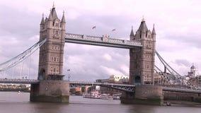 Puente de Londres almacen de metraje de vídeo