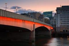 Puente de Londres. Imagenes de archivo