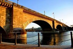 Puente de Londres en la ciudad de Lake Havasu Imágenes de archivo libres de regalías