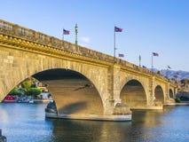 Puente de Londres en Lake Havasu foto de archivo