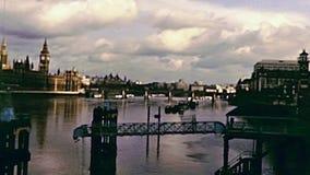 Puente de Londres Lambeth almacen de video