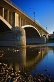Puente de Lorne en Brantford, Ontario, Canadá Foto de archivo