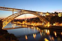 Puente de los Dom Luis foto de archivo libre de regalías