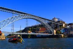 Puente de los Dom Luis, Oporto imagen de archivo libre de regalías