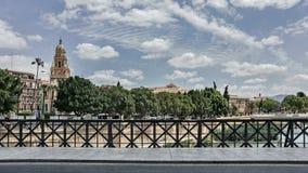 Puente de los Peligros royaltyfria bilder