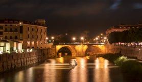 Puente de los Peligros dropp Fotografering för Bildbyråer