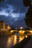 Puente de los Peligros II. Puente de los Peligros (Bridge hazards).Murcia.Spain Royalty Free Stock Images