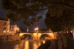 Puente de los Peligros III. Puente de los Peligros (Bridge hazards).Murcia.Spain Royalty Free Stock Photos