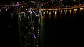 Puente de los polis del ³ de Florianà almacen de metraje de vídeo