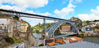 Puente de Luis I Imagen de archivo